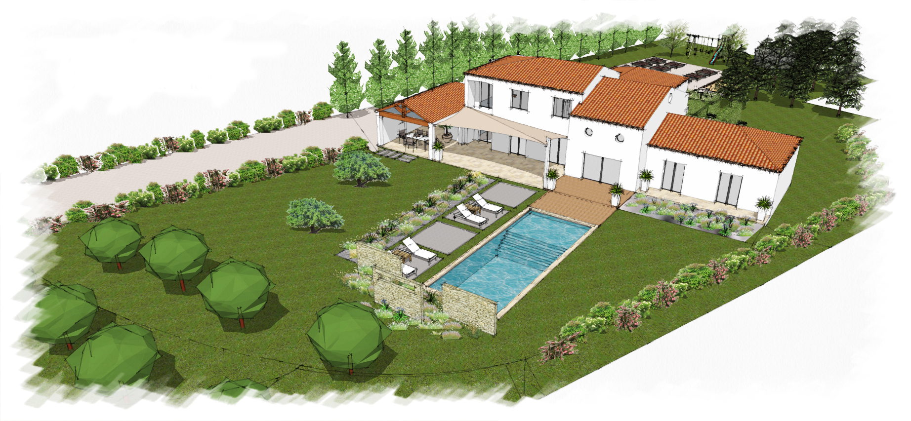 Actualit architectes paysagistes valea concept for Conception jardin