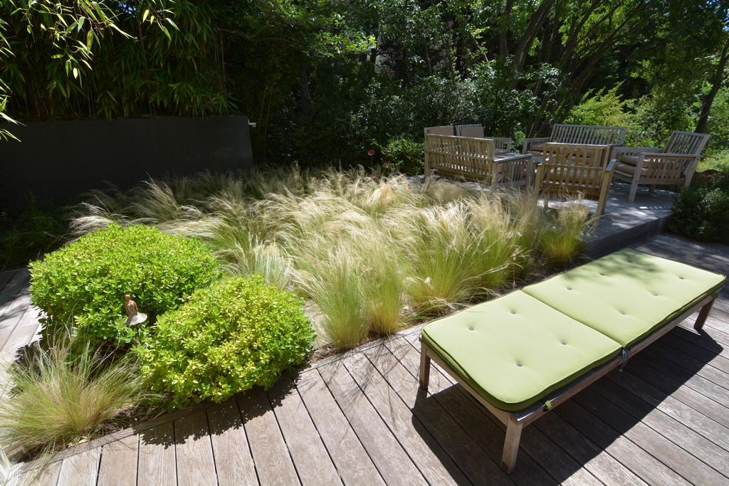 Conception et réalisation d\'un jardin contemporain Aix-En-Provence ...