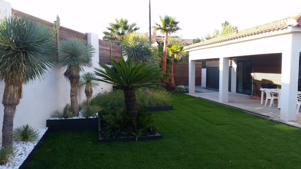 Conception Et R Alisation D Un Jardin Contemporain Carry Le Rouet Architectes Paysagistes