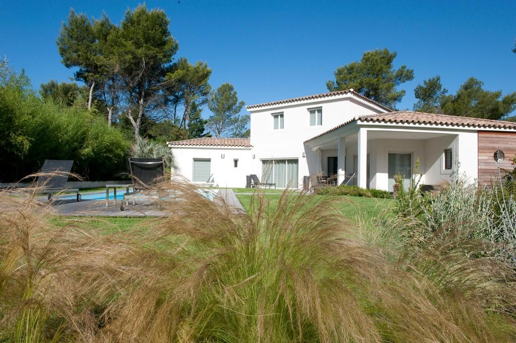 Conception et réalisation d\'un jardin contemporain design à Aix-en ...