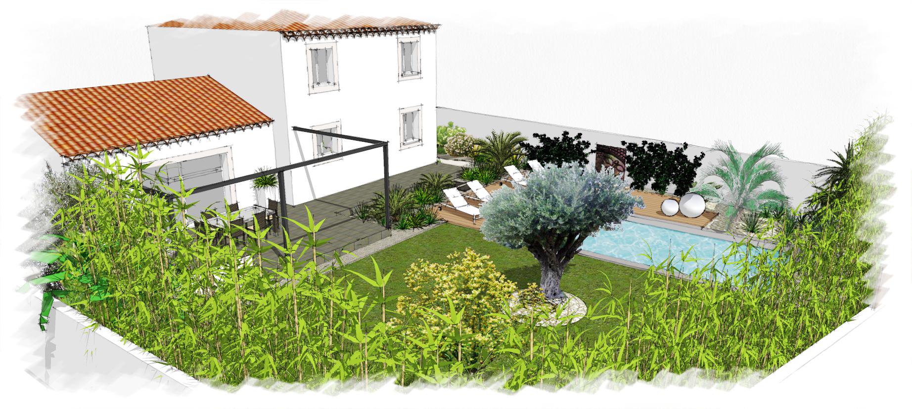 Actualit architectes paysagistes valea concept for Jardin concept